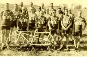 1960 U.S. Olympic Cycling Team