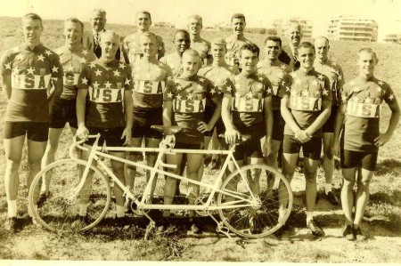 1960 U.S. Olympic Cycling Team