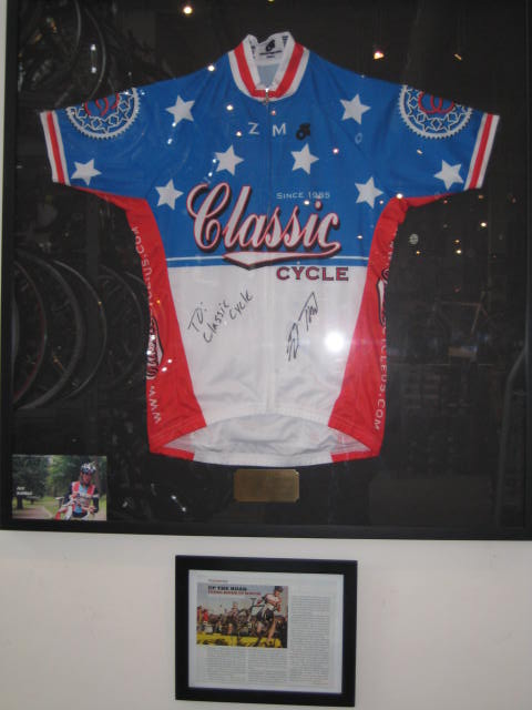 Zach s Cyclocross National Champion Jersey 327c4f628