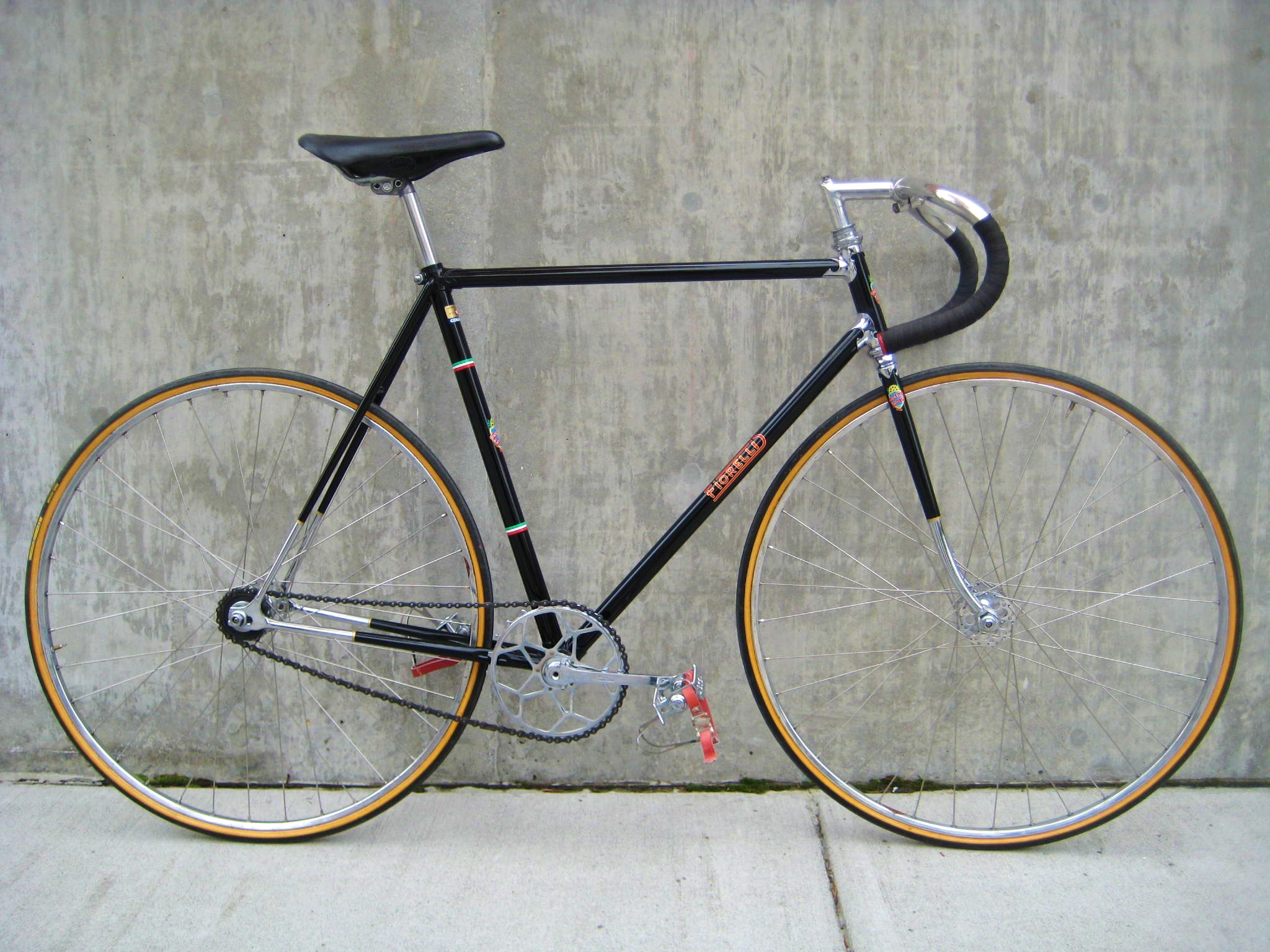 1952 Fiorelli Track Bike Classic Cycle Bainbridge Island Kitsap