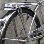 Beautiful stainless steel rack and fenders