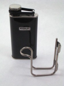 Stanley flask with Ahearn flask cage