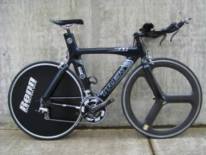 Used Trek Equinox triathlon bike $2500