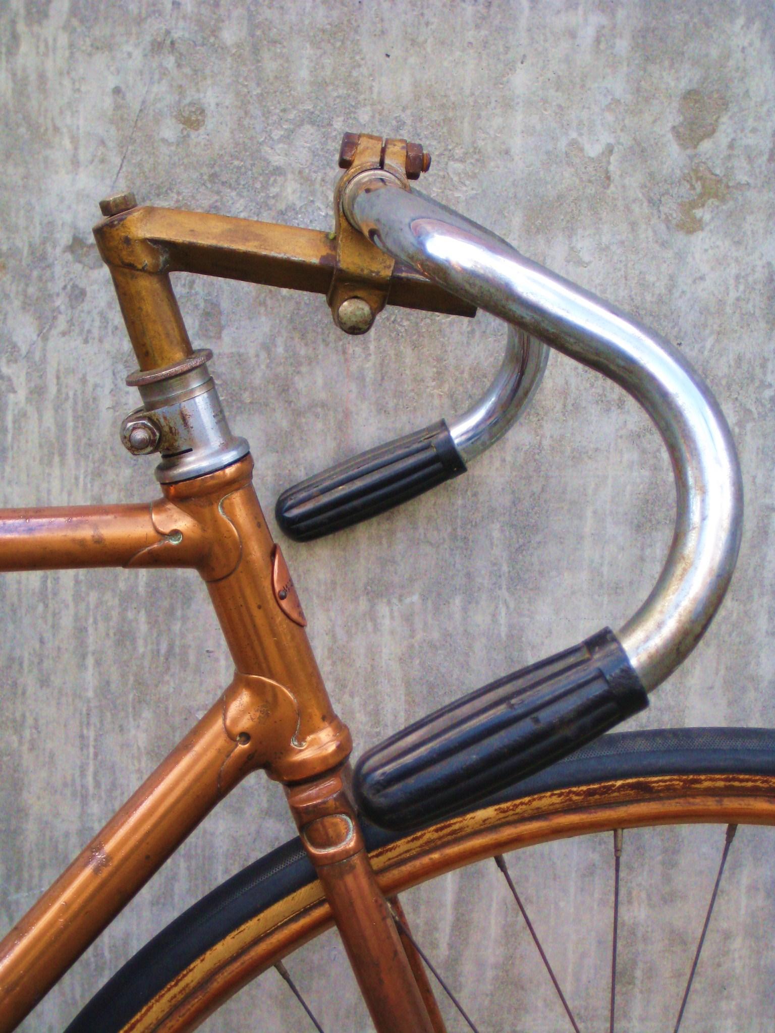 Rare 1925 Copper Plated Appelhans Track Bike Classic