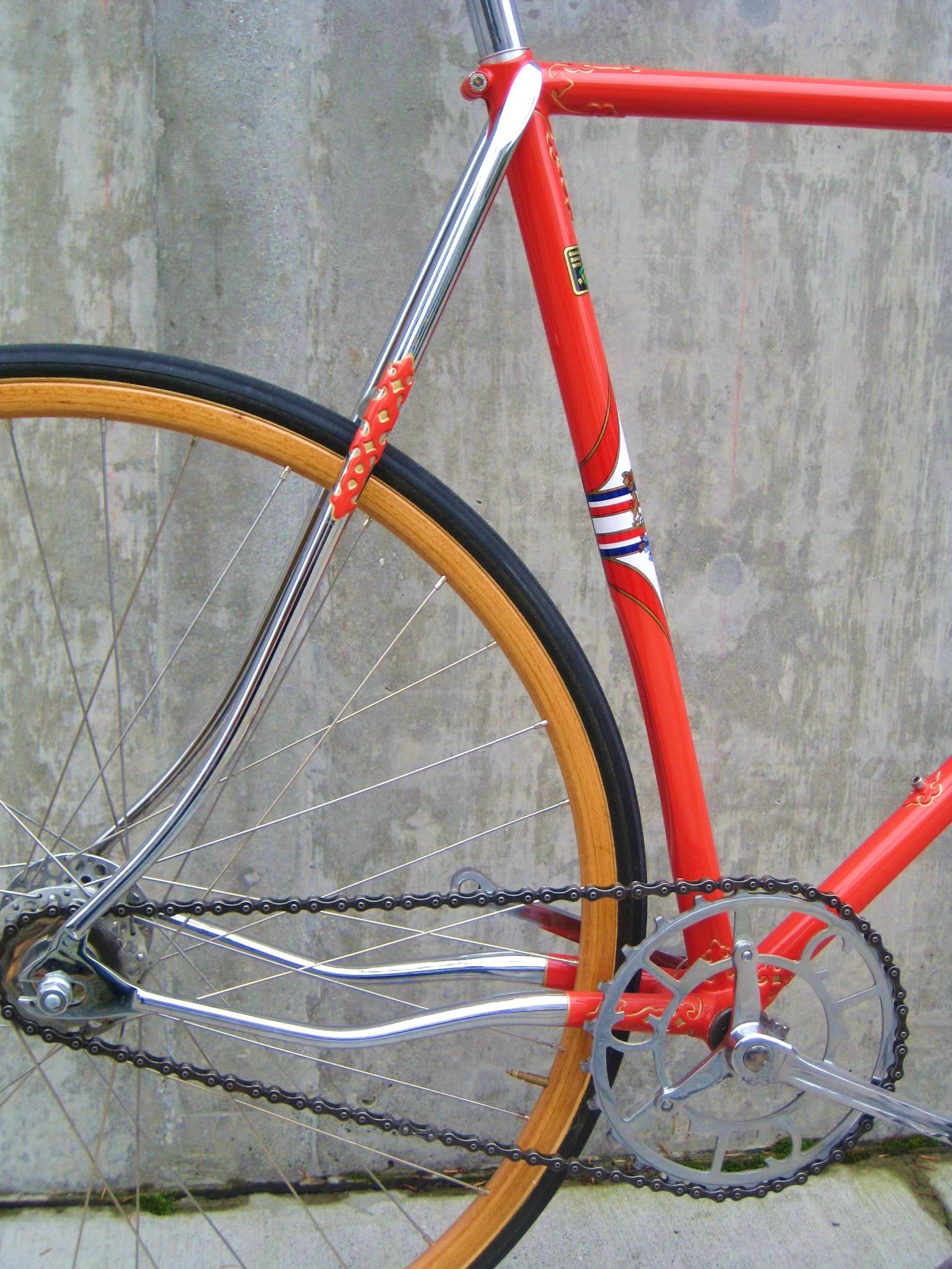 hetchins millenium track bike | Classic Cycle Bainbridge ...
