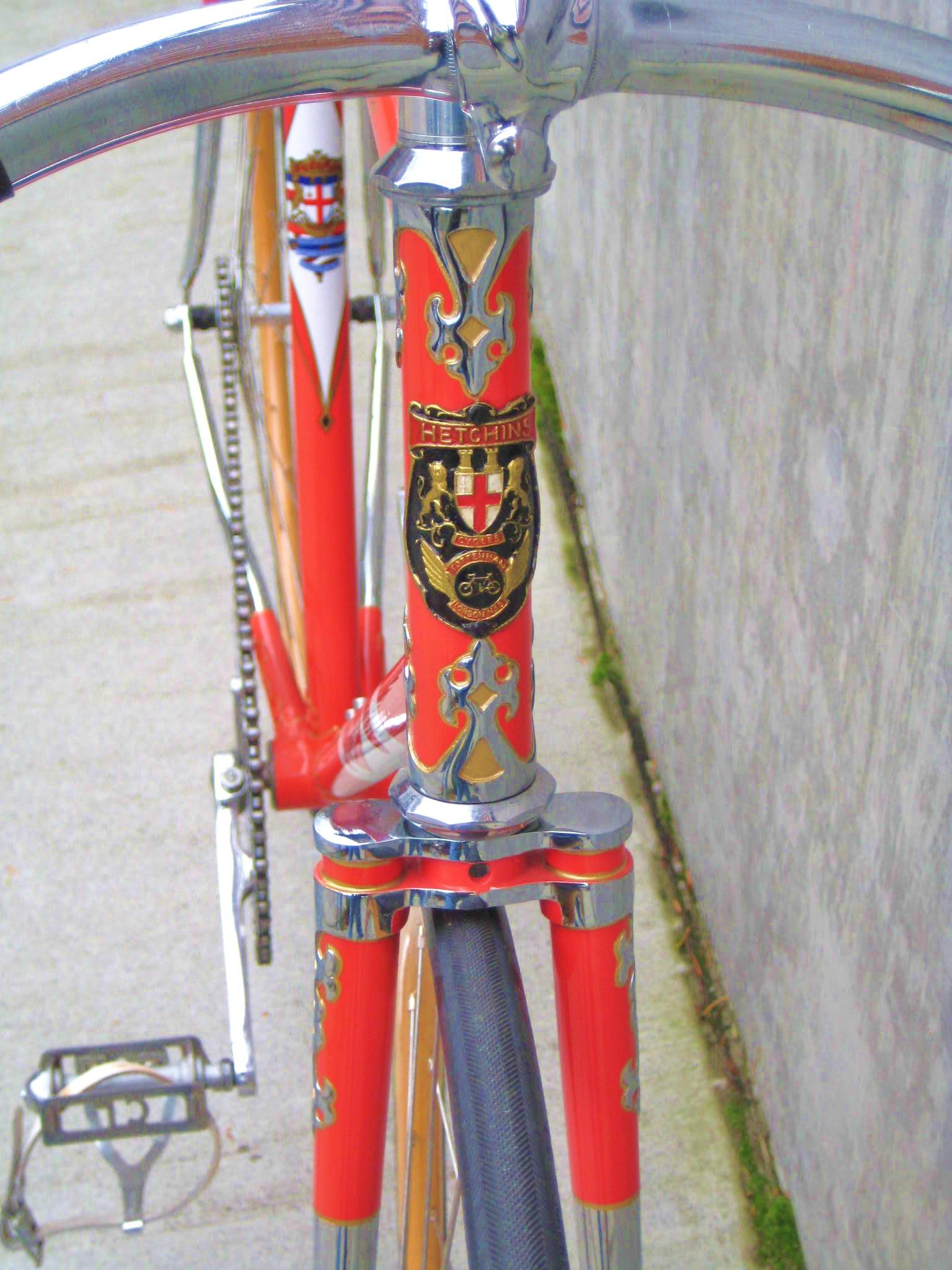 hetchins millenium track bike classic cycle bainbridge. Black Bedroom Furniture Sets. Home Design Ideas