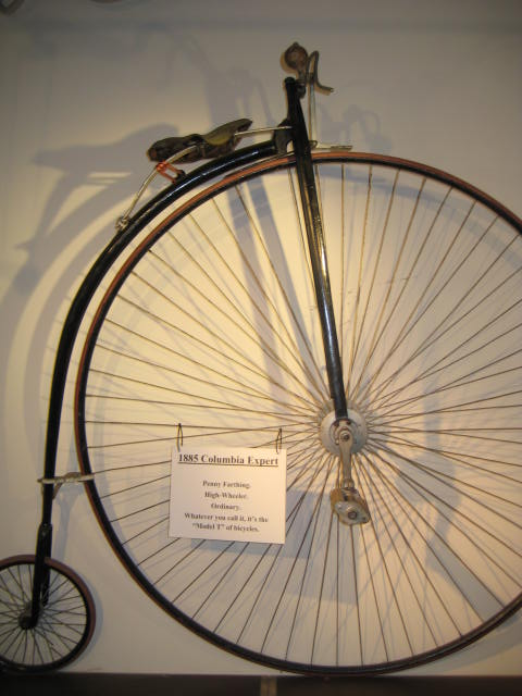 Bmx Bikes For Kids >> 1885 Columbia High Wheel Penny Farthing Bicycle | Classic ...