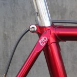 Merckx seat lug detail