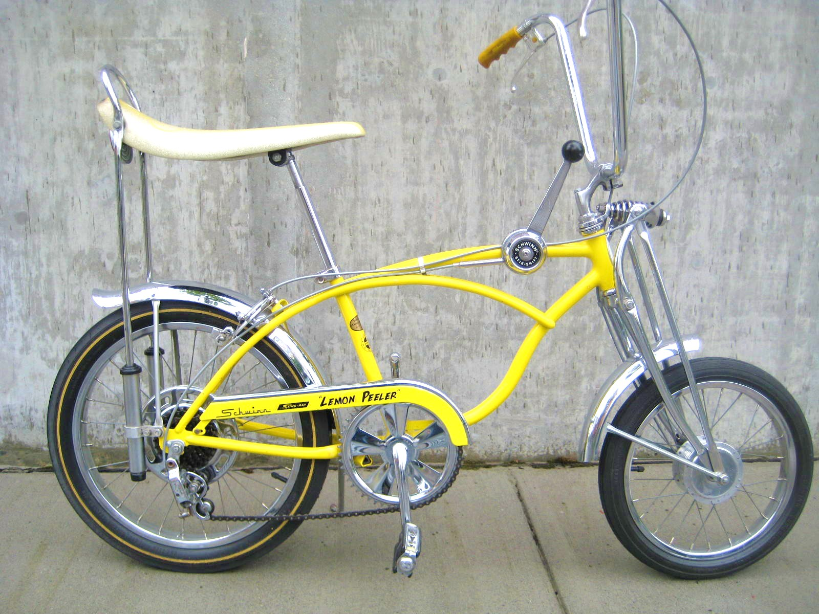 1968 Schwinn Lemon Peeler Krate Bike At Classic Cycle Classic