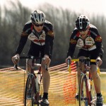 Kiel and Francis racing for Classic Cycle