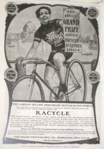 Racycle advertisement
