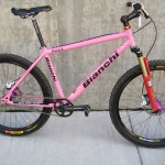 A Bianchi PUSS (Pink Ugly Single Speed)