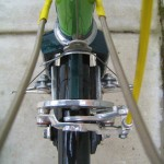 Two brakes on the front wheel
