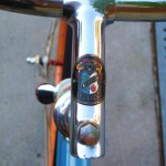 Cinelli stem with the old badge on it