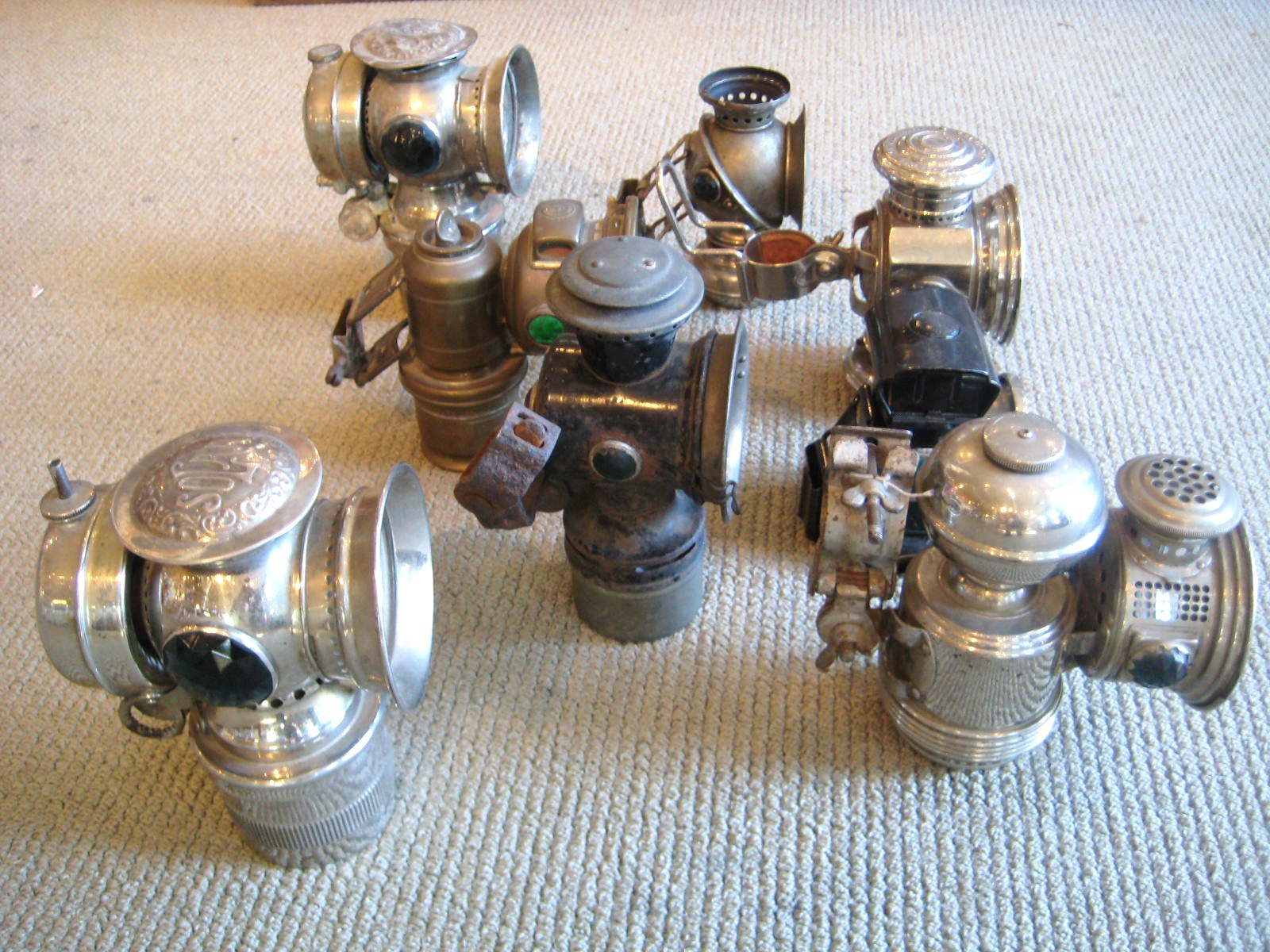 Bicycle Lamps And Vintage Bike Lights