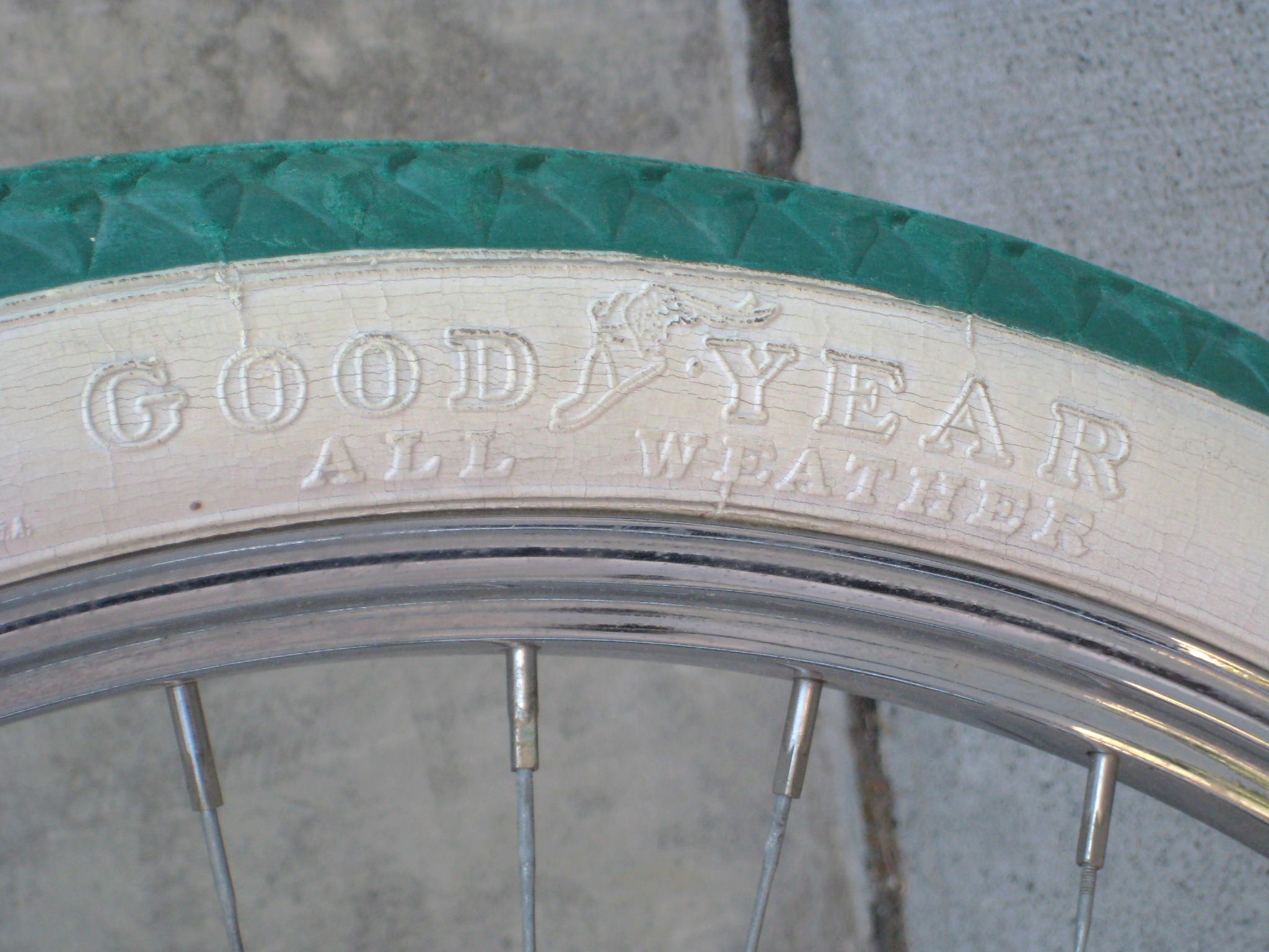 American Made Tires >> 1936 Monark Silver King balloon tire bicycle | Classic ...