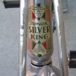 Monark head tube badge