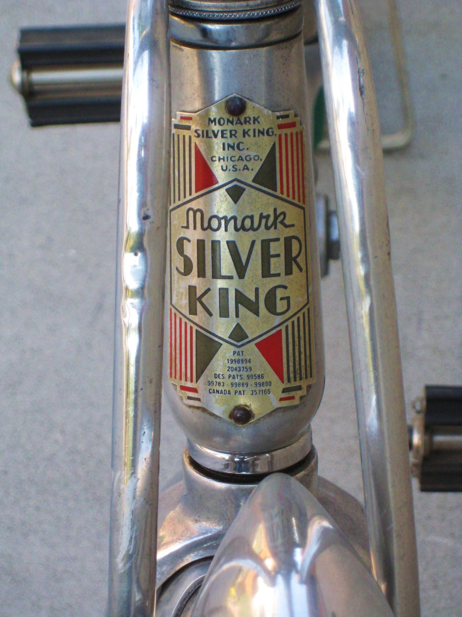 1936 Monark Silver King Balloon Tire Bicycle Classic