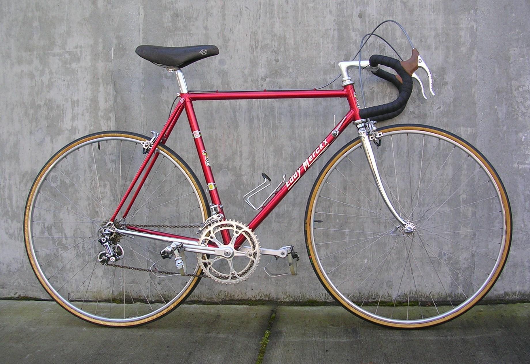 Classic Eddy Merckx Racing Bike Classic Cycle Bainbridge