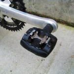 This one did lose the toe clips in favor of early SPD pedals