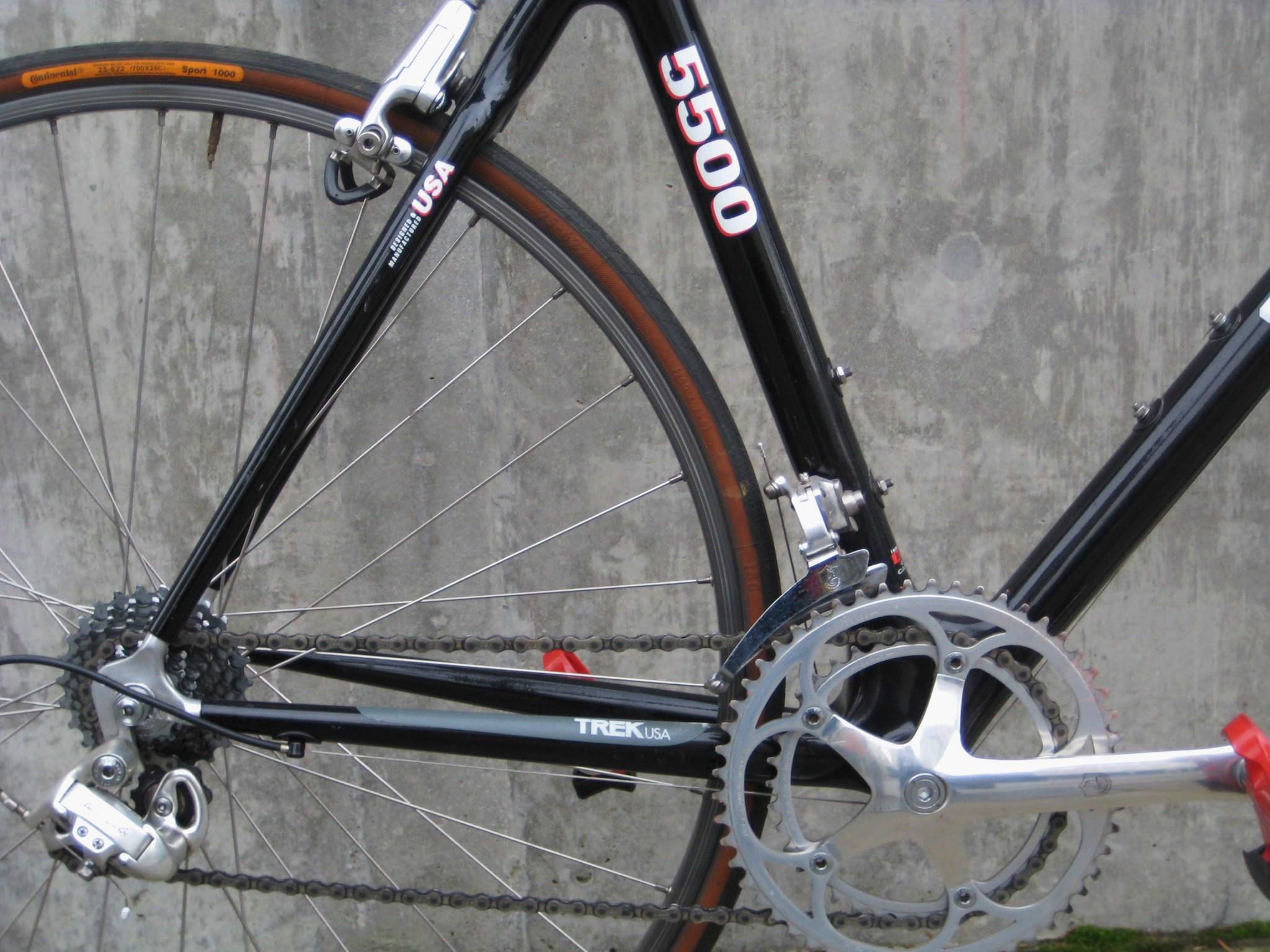 1992 Trek 5500 OCLV Carbon fiber road bike   Classic Cycle ...