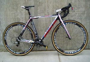 The 2012 bike in stars-and-stripes