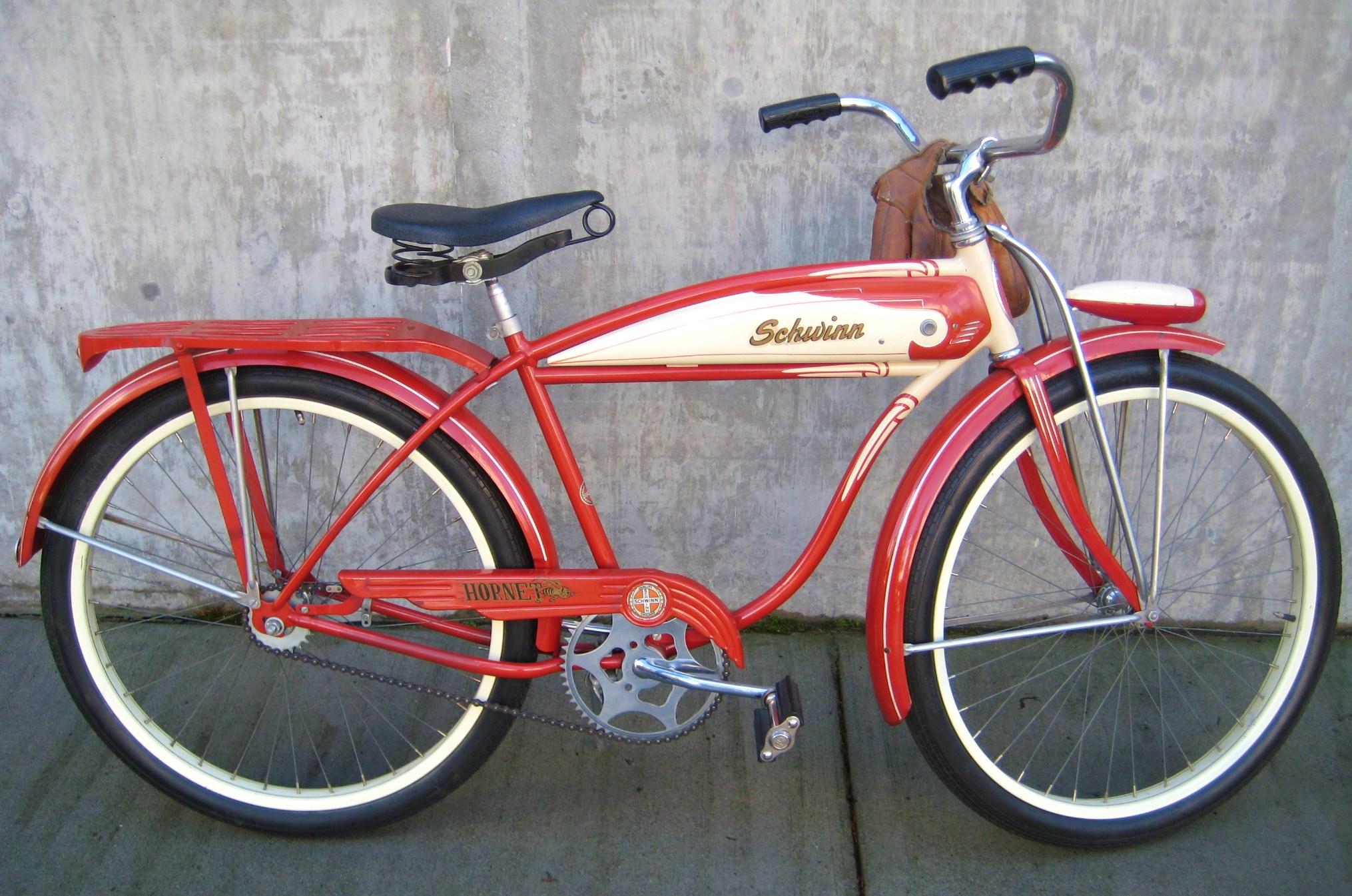 schwinn bicycles I have for sale a 1971 schwinn fastback bicycle original campus green paint single-speed, coaster bike has added vintage 67-68 ram's horn, stamped schwinn handlebars $250 together.