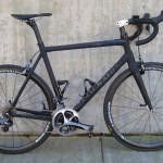 Gavin's bike in