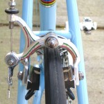 Engraved Campy Nuovo Record brakes