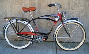 "Jeff's Schwinn Black Phantom on ""American Pickers"""