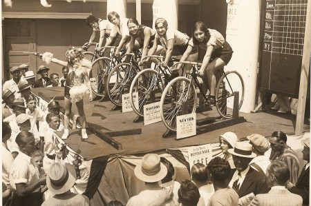 1931 6-Day Girls Roller Race