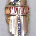 Armstrong head badge