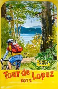 Tour de Lopez (Island)