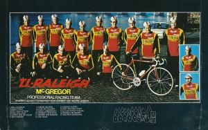 1978 T.I. Raleigh-McGregor racing team