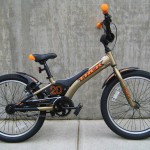 Jet 20 in brass/orange $149