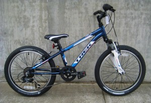 Trek Mt 60 in blue