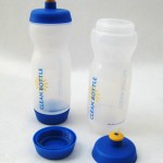 Clean Bottles unscrew at both ends for easy cleaning