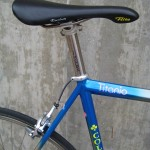Flight saddle and Synchros titanium post