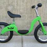 Kazam balance bike in green