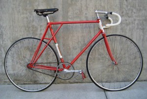 1962 Dick Power track bike