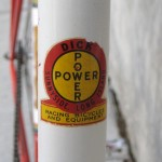 Dick Power head tube badge