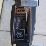 A top-tube mounted Positron shifter