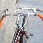 The wide bars are comfortable and stylish