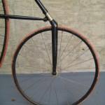 Smaller front wheel