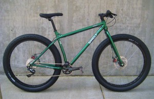"Surly Krampus in ""Moonlit Swamp Green"""