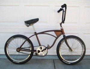 1970 Schwinn Stingray BMX conversion