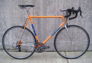 60cm Colnago Master in Molteni orange