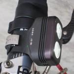 220 Lumen output dual beam front light