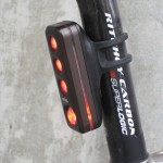 Tough and bright 60 Lumen rear light