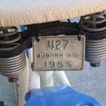Auburn bicycle license